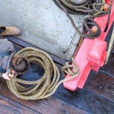 Apprendre à manier les cordages - Ph : association Hermione La(...)