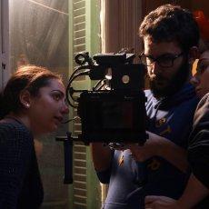 """Sur le tournage de """"Peut-être aujourd'hui..."""" © Marie-Josée Salameh"""