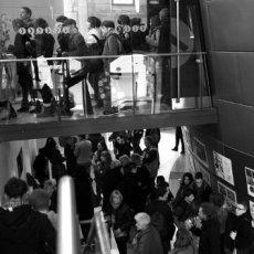 Foule, encore de la foule... © Arnaud Galy