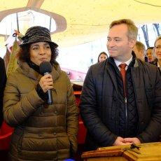... sans oublier le Maire de la Rochelle - Ph : Arnaud Galy - Agora(...)