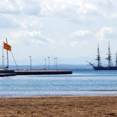 Espagne en vue... Ph : Association Hermione La Fayette