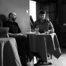 Iris Munos, Clément Balta (le français dans le monde) et Jan Nowak