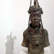 Oba Oguolo ur le trône du Bénin en 1274 © Arnaud Galy - Agora francophone