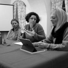 de droite à gauche - Emmanuelle Delle Piane, Isabelle Hubert et Lucie(...) © Arnaud Galy - Agora francophone