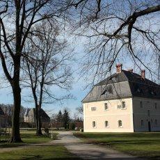 Le parc du château de Brunow © Arnaud Galy - Agora francophone