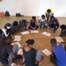 Formations en jeu d'acteur et écriture - Burkina Faso - décembre(...) © CRAC International