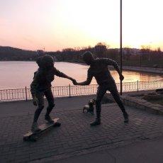"Moldavie, Chisinau, le lac ""Valea Morilor"" - Angelina(...)"