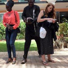 Institut français de Dakar à quelques heures du coup d'envoi(...) © Arnaud Galy - Agora francophone