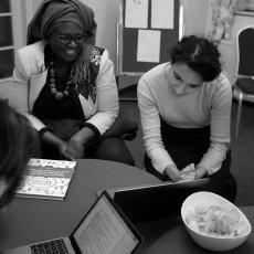 Youma Fall, directrice de la langue française, la culture et la diversité à(...) © Arnaud Galy - Agora francophone