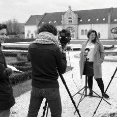 Hélène Buisson, l'attachée de coopération pour le français à(...) © Arnaud Galy - Agora francophone