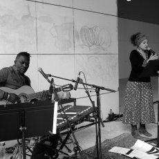 Nelly Cazal et Mangane à la Galerie des Hospices à Limoges © Arnaud Galy - Agora francophone