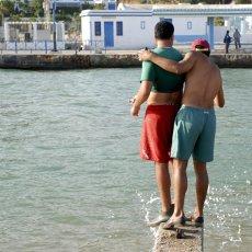 Autre type de duo (Sidi Bou Saïd)