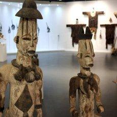 Statue anthropomorphe Urhobo - Nigéria © Arnaud Galy - Agora francophone