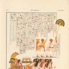 Ibsamboul - préparation du char de Ramsès