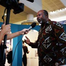 Hassane Kassi Kouyaté, le chef à la baguette © Arnaud Galy - Agora francophone