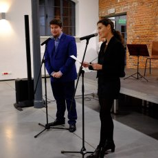Iris Munos et Jan Nowak aux commandes de la soirée.