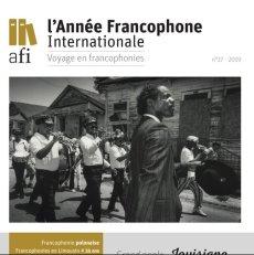 AFI - Année Francophone Internationale 2019